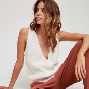 Aritzia The Group By Babaton Stacey Knit Top